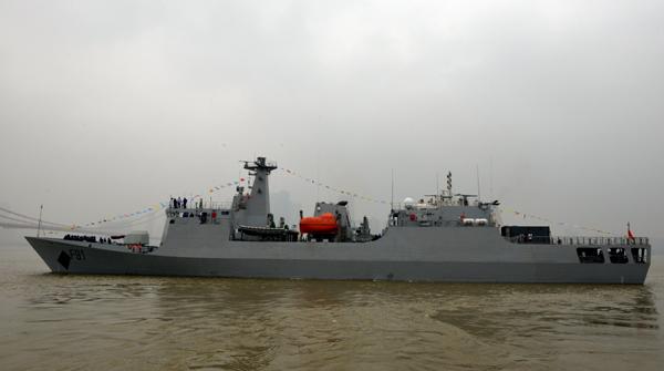 尼日利亚近海巡逻舰