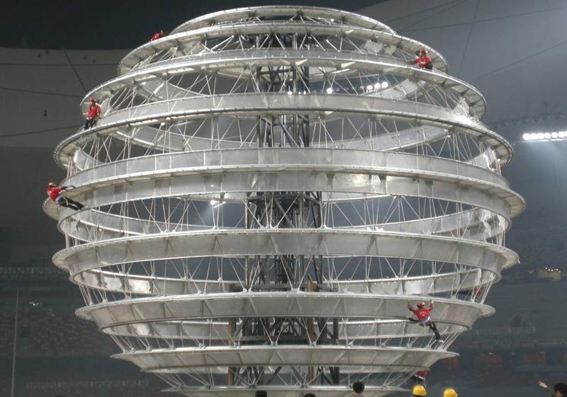 第二十八届北京奥运会开幕式演出设备-九环地球
